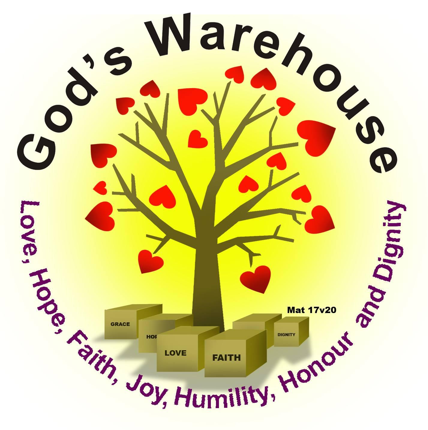 God's Warehouse Logo